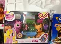 Pony пони 2шт с аксессуарами