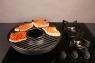 """Сковорода """"Чудо Гриль-Газ"""" Двухслойное эмалированное покрытие с мраморной крошкой D 522"""