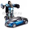 Робот трансформер на пульте управления в ассортиме