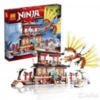 Конструктор Lele Ninja 79140 Огненный Храм