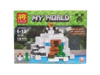 Конструктор Полярная станция Micro World Майнкрафт 126 деталей (Minecraft 79149B)